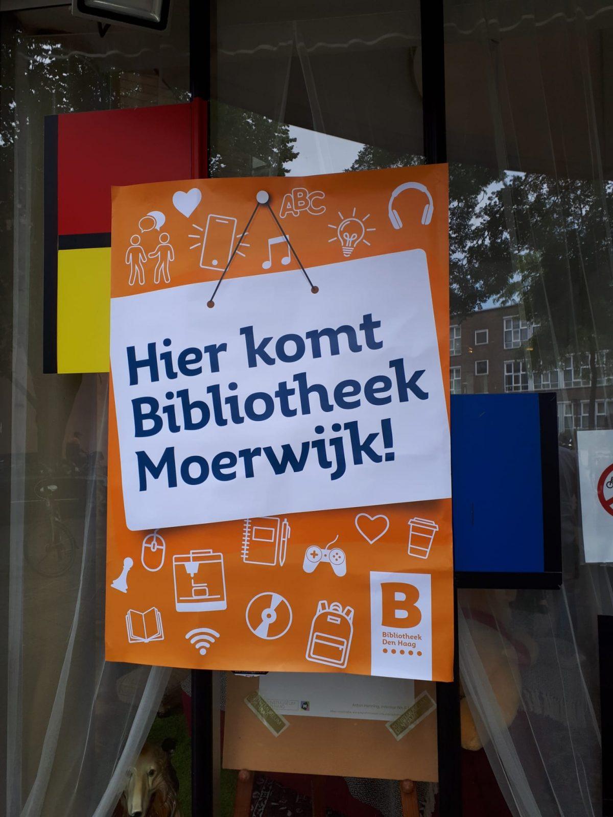 De bibliotheek komt terug in Moerwijk